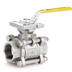 3-piece 60 v-port Ball Valve