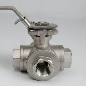 3-way L-port valve K338L001037000000020