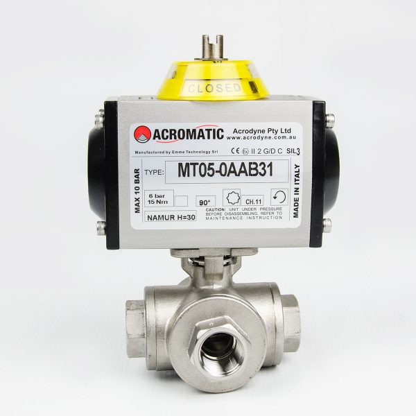 MT05-0AAB31-KL015 Pneumatic Actuated Ball Valve Kit