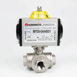 MT05-0AAB31-KT015 Pneumatic Actuated Ball Valve Kit