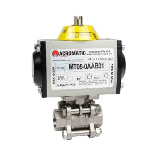 Pneumatic DA MT05-0AAB31-V015 Pneumatic Actuated Ball Valve Kit