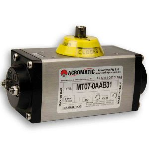 Acromatic Pneumatic Actuator MT07-0AAB31