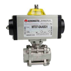 MT07-0AAB31-V025 Pneumatic Actuated Ball Valve Kit