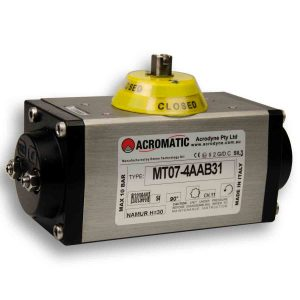 Acromatic Pneumatic Actuator MT07-4AAB31