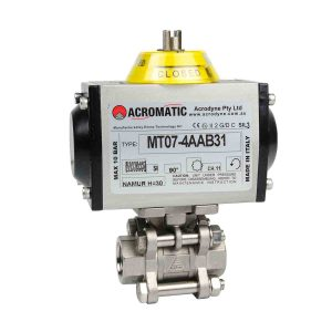 Pneumatic Actuator Valve Standard Package MT07-4AAB31-V015 Pneumatic Actuated Ball Valve Kit