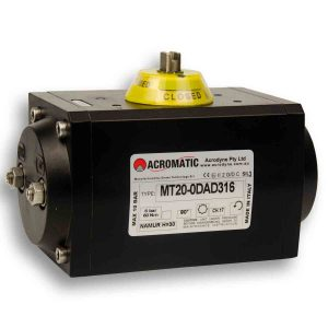 Acromatic Pneumatic Actuator MT20-0DAD316