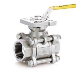 V158T High Temp Ball Valve