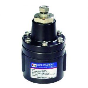 YTC, 400s, lock up valve, pneumatic, accessories, Acrodyne